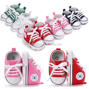 Wholesale Canvas baby sports Shoes Children soft Shoes Non-slip Casual Baby shoes girl