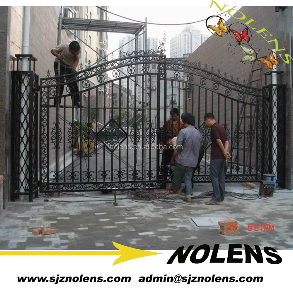 Beautiful iron art gate Designs For Home by hand blacksmith works