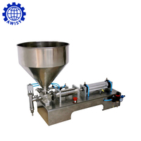 Hot sale factory price single head honey stick filling machine