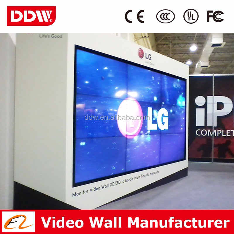 SAMSUNG/LG screen 55 inch 2x2 LCD monitor video wall DDW-LW5506/08