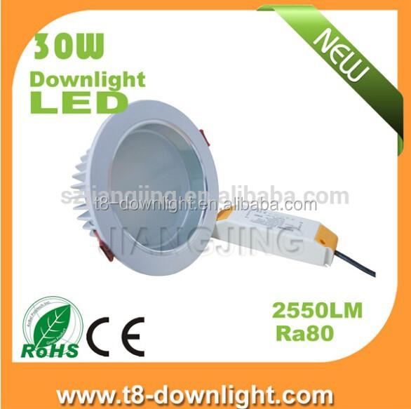 Wholesale alibaba super brightness 30w 220V Warm white down light ceiling led spot lights
