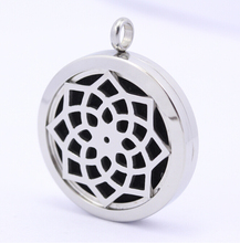 Wholesale Popular Openable Stainless Steel Magnetic Diffuser Aroma Pendant