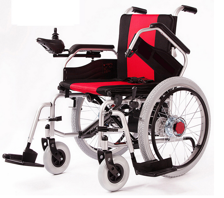2016 Hot sale folding automatic electric wheelchair