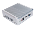 fanless core i5-4200U min computer with 3M Cache ,mini size and light weight can easy to move.
