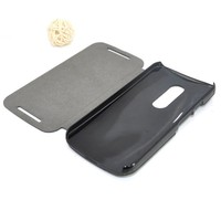 genuine leather flip new genuine pu cover case for Motorola G2 wholesale