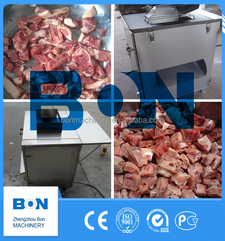 BON automatic commercial industrial bone cutter meat band saw for cutting frozen meat bone and chicken