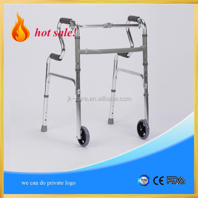 walking assistant rollator wheeled walker for disabled / aluminum walker