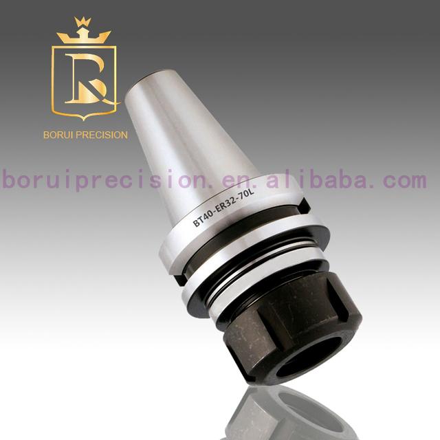 CNC Manufacturing BT40 ER25 ER32 ER40 series bt40 tool holder, bt40 collet chuck, bt30 bt40 bt50 tool holder