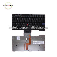 laptop keyboard for lenovo IBM X60 US Black layuot