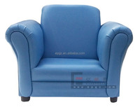 Single Seat Air Leather Sofa Chair Indoor Furniture Leather Sofa Chair KB-15