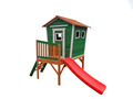 Wooden kids' cubby house