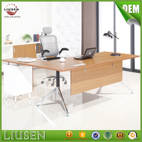 High quality eco friendly furniture office wood luxury manager executive desk