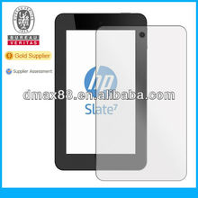 Ultra clear tablet screen protectors for HP Slate 7'' oem/odm(Anti-Glare)