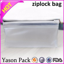 Yason mini plastic zip bag zipper pill bag vacuum sealing zip lock plastic bags