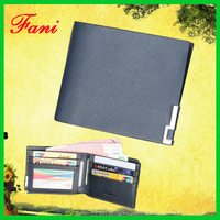 Fancy leather wallet with bifold design for men