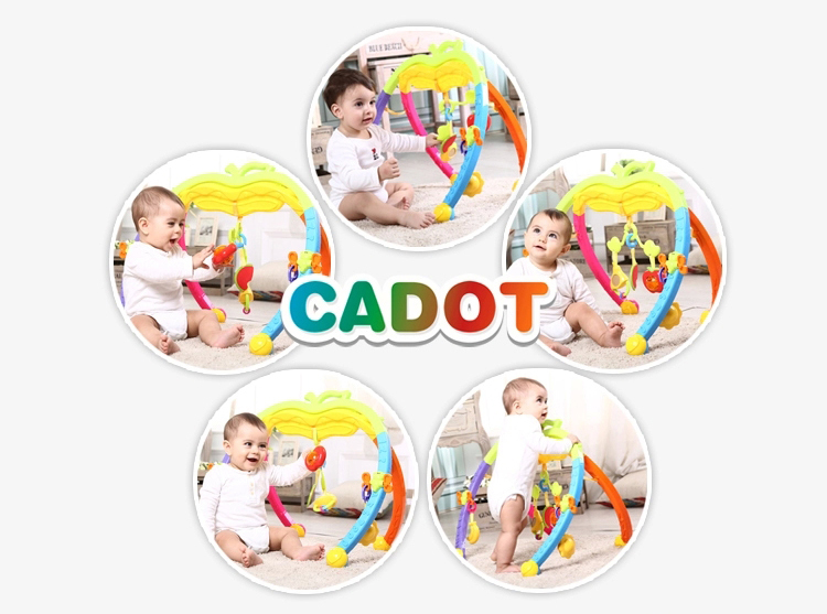 Multifunction baby toys apple shape baby fitness frames