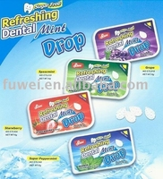 6g sugar free Refreshing Dental Mint Drop mint candy