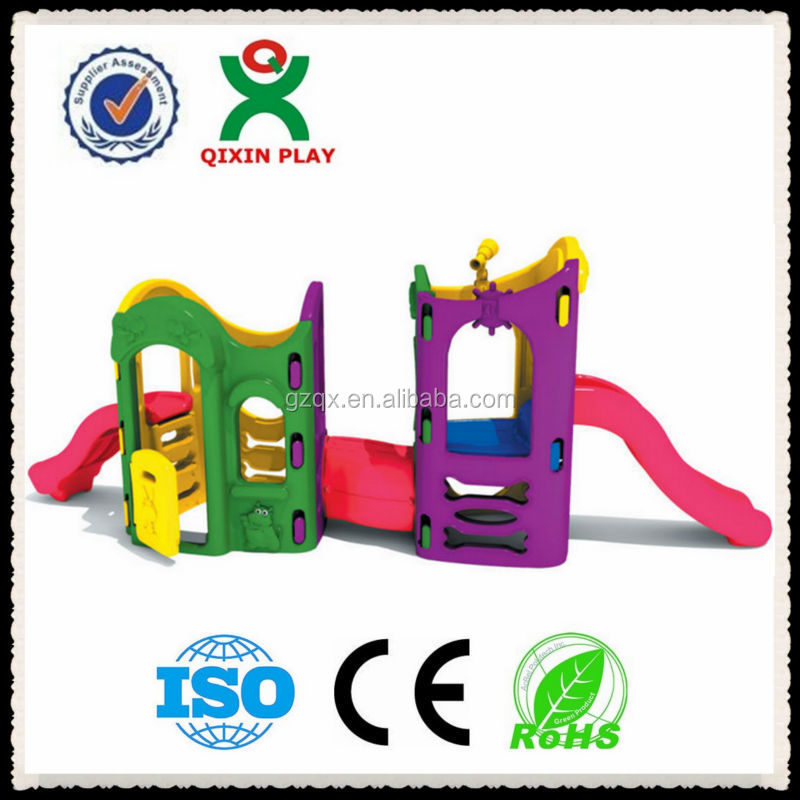 Guangzhou Design Kids Friendly Assemble climbing frame/Toddler playground/residential playground equipment/QX-157B