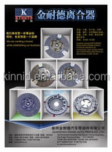 High Quality Heavy Duty Clutch Disc Clutch Plate 13Inch-17Inch