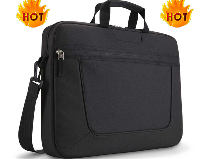 best selling fabric shoulder strap laptop bag/computer bag