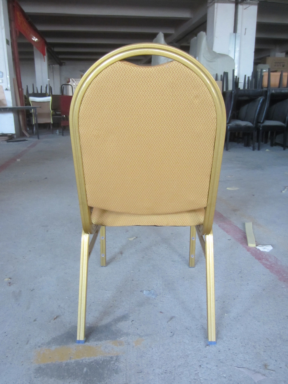 Comfortable stacking banquet hall chair with waterfall for Comfortable chairs for sale