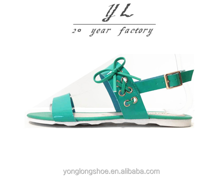 2017 Wholesale Custom Fashion Personalized Bowknot Women <strong>Sandals</strong>