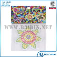 2014 Hot Selling Plastic 5mm Hama Beads Peg Board Template