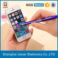 Crystal erasable stylus pen with printing logo (X-8809)