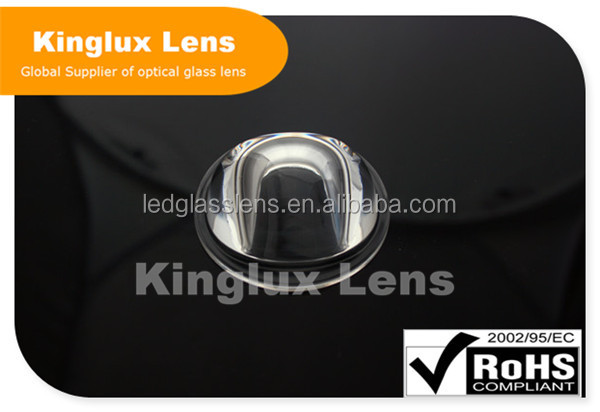 Kinglux lens 56MM High Quality LED Glass Lens for street lights KL-SL56-22