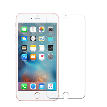 Wholesale 9H 2.5D mobile tempered glass screen protector for iphone7
