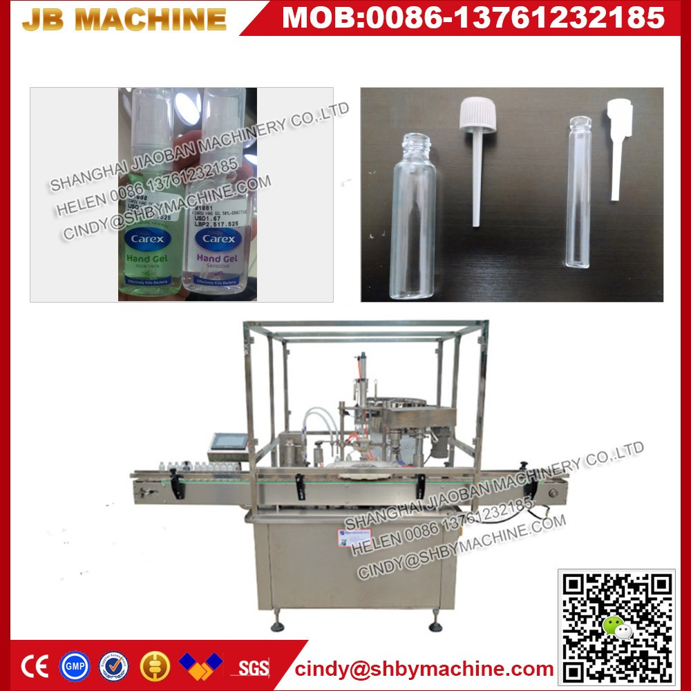 JB-P2 Best price Shanghai automatic bactericidal spray filling machine