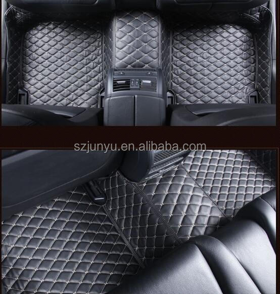 5D Full Surrounded Waterproof Leather XPE Car Floor Mats for BMW 1 series 118i/120i/125i M/ M135i