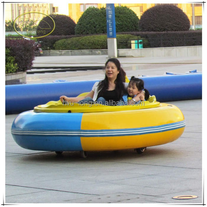 New Design DC 24V Battery Coin Operated Kids Inflatable Bumper Cars With CE