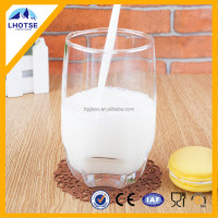 Wholesale Embossed Bottom Clear Cheap Drinking Glass From Factory