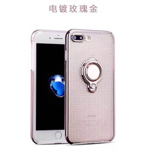 360 Rotating Kickstand Plating Case Anti-Skid Drop Protect phone case for samsung J110