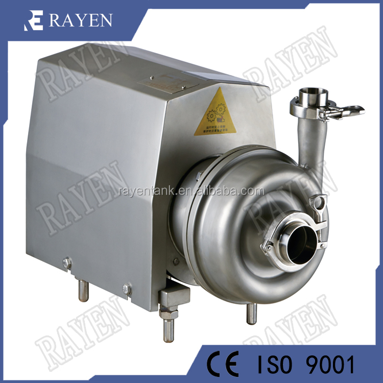 Sanitary stainless steel sanitary centrifugal pump dairy milk pump