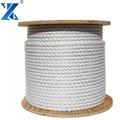 Wholesale durable floating on water 3 strand polypropylene rope used ship rope