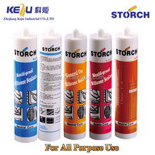 Structural Acetic cure silicone sealant, acetoxy curing and resistant high temperature