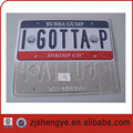 gift American aluminum number plate or USA License Plate