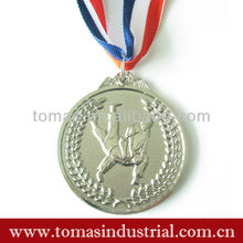 Wrestling match awarding miraculous metal medals