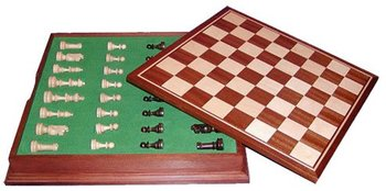 Chess In Wooden Box