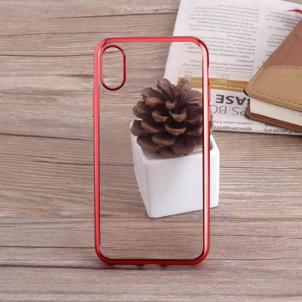 Electroplating protective phone cover case for iphone8,for iphone 8 cover case
