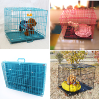 2016 Hot Sale Good Quality Collapsible Dog Cages Pet Crate Dog Kennels For Travel