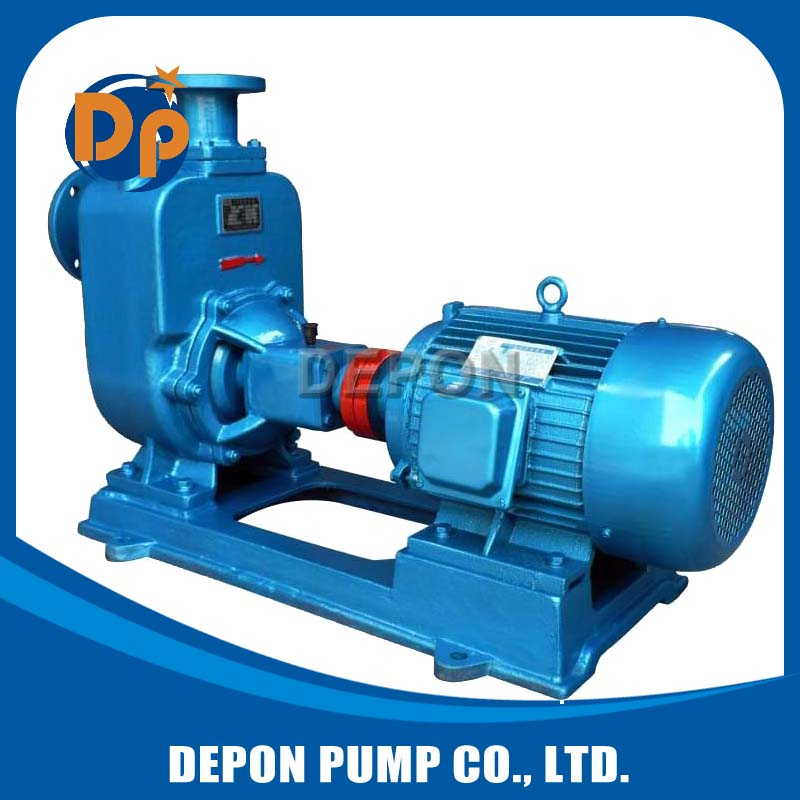 motor driven big flow diesel oil transfer self-priming pump