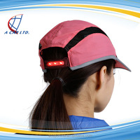 Men Outdoor Folding Sports Hat Baseball Cap With Built-in Led Light