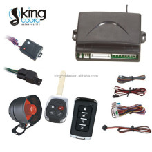 Car ignition security system/ car alarm with built-in central lock relay