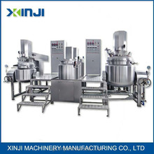 shaving paste making machine vacuum emulsifying machine