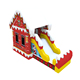 Christmas House Inflatable Combo Inflatable Bouncing Castle