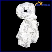 HZW-13329008 Wholesale fashion voile flower printing hot Best sell islamic hijab and scarf