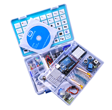 NEW RFID Learning Kit Uno R3 Starter Kit with Tutorial CD LCD1602 Power Supply US Plug EU Plug